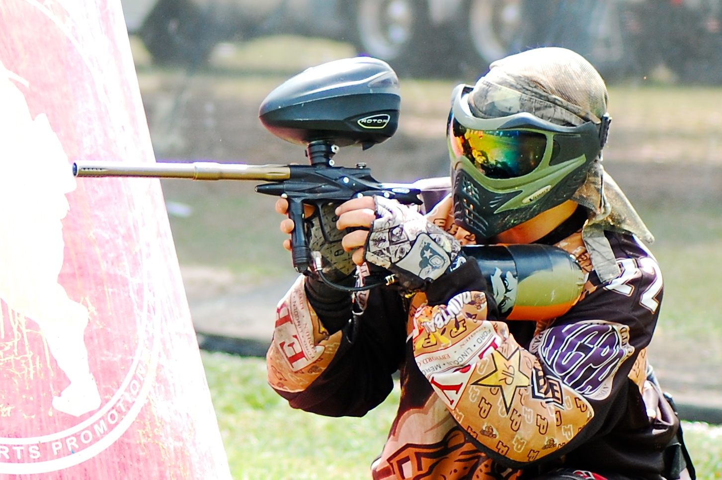 Professional Paintball booking